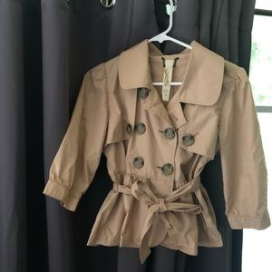 Trench Coat Blouse M